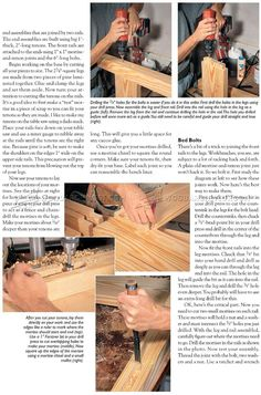 #1542 Wood Workbench Plan - Workshop Solutions