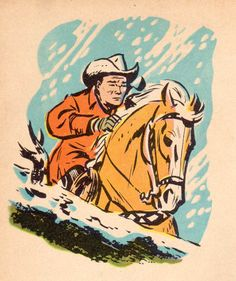 Vintage Roy Rogers comic.
