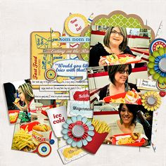Fries With That? by Traci Reed and Jady Day Studio; Fuss Free: Pennants 4 by Fiddle-Dee-Dee Designs; font is DJB Liz