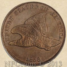 The 1856 Flying Eagle Cent. Most collectors consider this coin a US Mint regular issue but, it is technically a pattern coin with a mintage of only 2000.