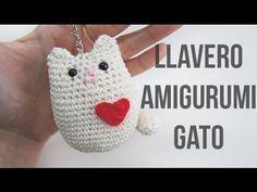 Llavero amigurumi de gato paso a paso - YouTube