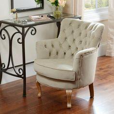 Bella Tan Vanity Chair   Kirklands