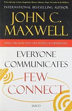 World-renowned leadership expert John C. Maxwell says if you want to succeed, you must learn how to connect with people. And while it may seem like some folks are just born with it, the fact is anyone (Mix People Facts) Book Club Books, Good Books, Books To Read, Motivational Books, Inspirational Books, Reading Lists, Book Lists, Entrepreneur Books, Personal Development Books