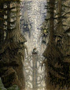 Illustrations by Jon Sideriadis, via Behance