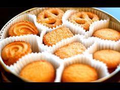 Copycat Royal Danish Butter Cookies   Christmas Cookies Recipe - YouTube