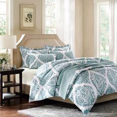 Harbor House™ Ogee Paisley Duvet Cover Set - BedBathandBeyond.com