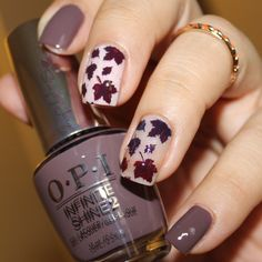 Patiently waiting for fall using @opi Infinite Shine