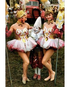 Circus costumes from the 50s