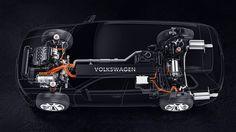 2013 Volkswagen Cross Blue SUV Concept Scema