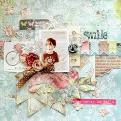 Happy smile♪: My Creative Scrapbook Kit June