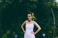 hydrangeas // historic columbia, sc wedding // tattoo bride // bridal portraits