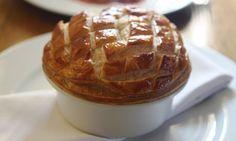 Venison pot pie from Jason King at The Wellington Arms