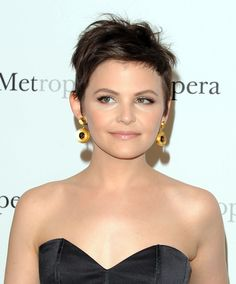 Ginnifer Goodwin Hair.  If only I were this brave.