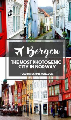 Is Bergen The Most Photogenic Place On The Planet? via /marievallieres/