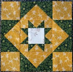"""Always Hopeful and Cheerful    Block from the book """"The Civil War Love Letter Quilt"""