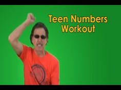 This teen numbers song helps your children learn about numbers in the teens and engages with movement and physical activity. Children are actively engaged in moving through the entire song. Teen Numbers Workout has a great exercise beat that will motivate your children to move and learn. Learning how to say and write the teen numbers can be very challenging for children, so play the video often to maximize the learning!