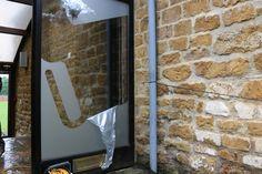 17 June last job at old office taking branding off door