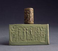 Ancient Achaemenid Persian Cylinder Seal (500 BC to 600 BC)