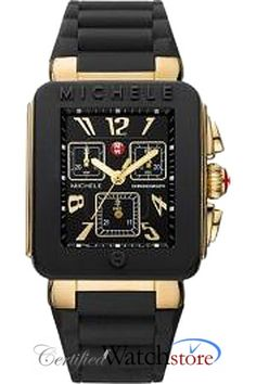 Michele MWW06L000015 Watch Park Jelly Bean Ladies - Black Dial Stainless Steel Case Swiss Movement