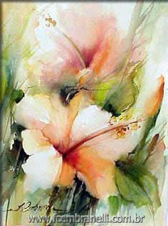 Let's Make a Painting: Paint These Hibiscus Flowers in Watercolor