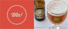 Διαγωνισμός με δώρο 5 κιβώτια Grimbergen Blonde Beer, Tableware, Glass, Root Beer, Ale, Dinnerware, Drinkware, Tablewares, Corning Glass