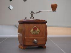 Vintage German Coffee Grinders: Very nice and Rare Dienes 708 made of cherry wood