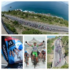 A few snaps of todays long stage 4 of the Giro...