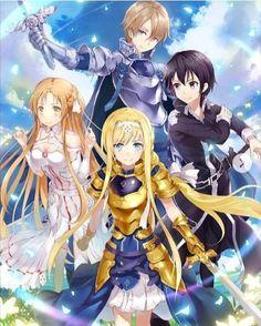 Wall Paper Anime Kawaii Sword Art Online 39 Ideas For 2019 Sword Art Online Asuna, Kirito Sword, Sao Anime, Manga Anime, Sword Art Online Season, Sword Art Online Wallpaper, Accel World, Anime Lindo, Anime Kawaii