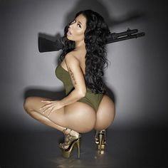 Sensational Nicki Minaj