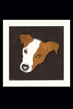 Limited Edition Dog Print by James Brown - Captain the Jack Russell