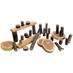 logs for building blocks