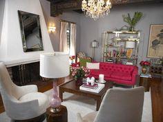 Feminine Contemporary Design - Designers' Portfolio : HGTV - Home & Garden Television