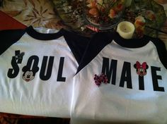 Disney honeymoon shirts