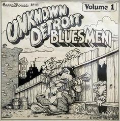 R. Crumb album design