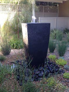 Love the sound of water Camille Beehler Landscape Design Newport Beach, Landscape Design, Water, Plants, Gripe Water, Landscape Designs, Plant, Aqua, Planting