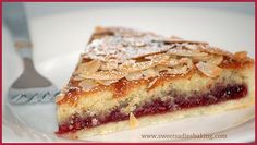 Sweet Sadie's Baking: Bakewell Tart…er…Pudding ♦ A very British dessert that gets eaten up quickly.