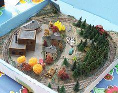 Pizza Box Model Railway Layout
