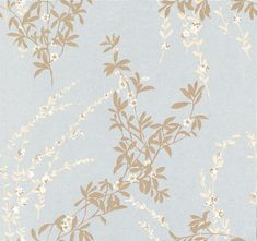 Thibaut Fiona Pale Blue Wallpaper main image