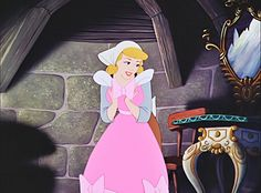 """Oh, thank you...so much"".*CINDERELLA, 1950"