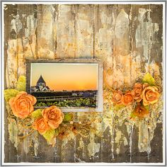 Scrap Made in Touraine: Sunset - The Scrapbook Diaries DT