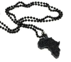 GOODWOOD AFRICA Africa is often referred to as 'the motherland' because modern man first appeared in Africa. You can show some pride in the Mother land with the GoodWood NYC Africa Necklace.