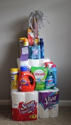 Housewarming Gift Tower Housewarming Ts People And Gift