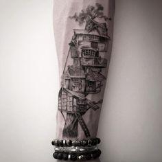 Tree house by Balazs Bercsenyi