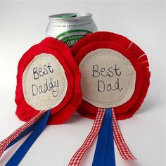 Father's day rosette by edamay | notonthehighstreet.com