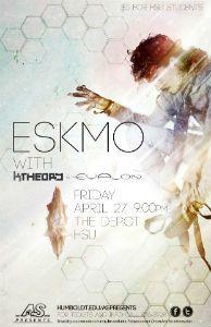 Eskmo, K Theory and Evalon, April 27