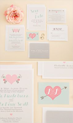 Printable wedding invitation suites and Splash of Silver giveaway! #weddingchicks http://www.weddingchicks.com/2014/06/24/wedding-paper-giveaway/