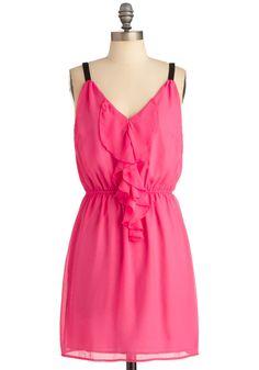 Look to the Fuchsia Dress ~ Modcloth Fuschia Dress, Bright Dress, Bright Pink, Cute Summer Dresses, Cute Dresses, Cute Outfits, Summer Clothes, Queen Outfit, Retro Vintage Dresses