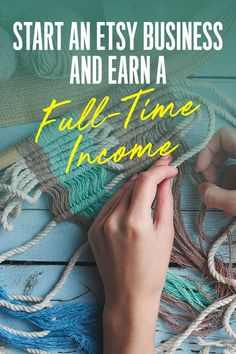 How to Make a Full-Time Income on Etsy: Step-by-Step Guide - First Quarter Finance Online Earning, Earn Money Online, Make Money Blogging, Make Money From Home, Money Saving Tips, Way To Make Money, How To Make, Starting An Etsy Business, Inventors