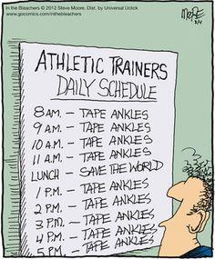 making a sports schedule