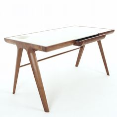 maya desk is a minimal design created by designer james melia for dare